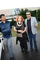 Павел Глоба, Мария Арбатова с супругом. Московский