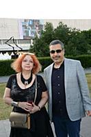 Мария Арбатова с супругом. Московский Международны