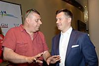 Алексей Мускатин, Алексей Немов. Церемония Открыти
