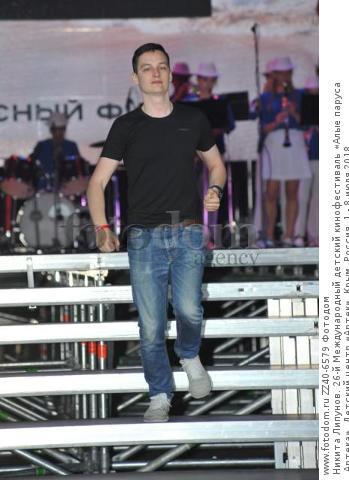 Никита Липунов. 26-й Международный детский кинофестиваль «Алые паруса Артека». Детский центр «Артек». Крым, Россия, 1 - 8 июля 2018.