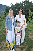 Ольга Кабо с детьми. 26-й Международный детский ки