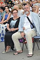 Юрий Грымов с супругой. Первый Открытый Кинофестив