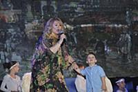 Ия Нинидзе с внуком. Первый Открытый Кинофестиваль