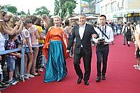 Эдуард Новиков с семьей. Первый Открытый Кинофести