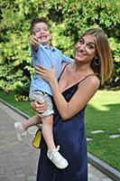 Нино Нинидзе с сыном Александром. Первый Открытый