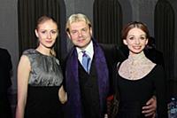 Ольга Есина, Андрис Лиепа, Евгения Образцова. Моск