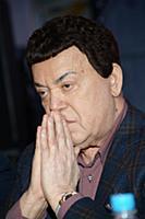 Российский эстрадный певец Иосиф Кобзон