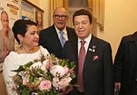Ирина Виторган, Эммануил Виторган, Иосиф Кобзон.