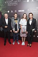 Игорь Прокопенко с семьей. Премьера фильма «Истори