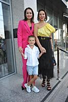 Ольга Кабо с сыном, Алика Смехова. Открытый кинофе