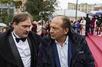 Денис Юченков, Андрей Федорцов. Торжественная цере