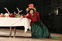 Мария Смольникова. Прогон спектакля «Сережа». МХТ