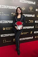 Ирина Безрукова. Премьера фильма «Несокрушимый». К