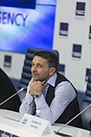 Леонид Барац. Пресс-конференция, посвященная 25-ле