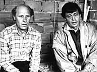 Николай Караченцов, Юрий Дубровин. Кадр из фильма