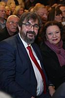 Игорь Золотовицкий, Наталья Тенякова. Вручение теа