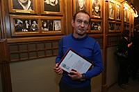 Константин Хабенский. Вручение театральной премии