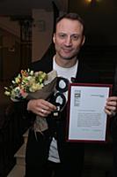 Анатолий Белый. Вручение театральной премии «Чайка