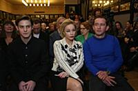 Павел Табаков, Марина Зудина, Константин Хабенский