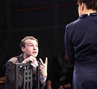 Актёры на сцене. Спектакль 'Метод Гронхольма' в Те