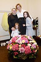 Игорь Саруханов с супругой Татьяной и дочерьми Люб