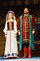 Репетиция спектакля «Сказка о Царе Салтане»