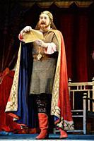 Григорий Скряпкин (Царь). Открытая репетиция спект