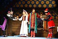 Андрей Сергеев (Кощей), Мари Марк (Царица), Григор