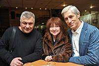 Сергей Кошонин, Екатерина Семенова, Сергей Варчук.