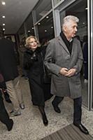Ирина Алферова с супругом. Премьера фильма «Послед