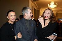 Валерий Яременко с супругой, Лилия Волкова. Премье