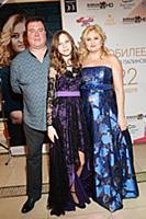 Наталья Палинова с супругом Дмитрием и дочерью Але