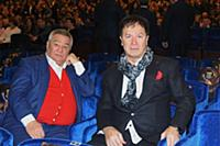 Алимжан Тохтахунов, Анзор Кикалишвили. Церемония в