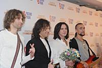 Группа «Земляне». Церемония вручения музыкальной п