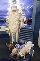 Пресс-конференция Главного Деда Мороза