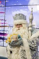 Дед Мороз / Андрей Балин. Пресс-конференция Главно