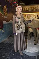 Лора Резникова. Праздничное открытие ГУМ-Катка на