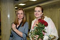 Лидия Музалева с дочерью Ириной. Гала-концерт шоу