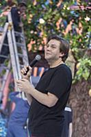 Сергей Широков. Съемки программы 'Голубой огонек'
