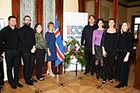 Прием, посвященный 100-летию независимости Исландии