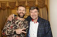 Тимур Ефременков, Юрий Растегин. футбольно-музыкал