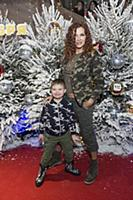 Эвелина Бледанс с сыном Семеном. Премьера фильма «