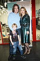 Валерия Лесовская с супругом и сыном. Презентация