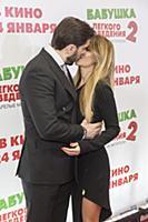 Александр Ревва с супругой. Премьера фильма «Бабуш