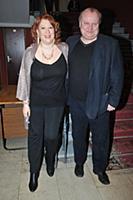 Борис Каморзин с супругой. Вручение премии 'Белый