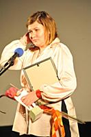 Наталья Мещанинова. Вручение премии 'Белый слон -
