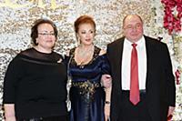 Лейла Адамян, Борис Шпигель с супругой. Юбилей Лей