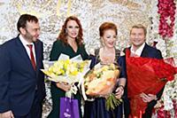 Эвелина Бледанс, Лейла Адамян, Николай Басков. Юби