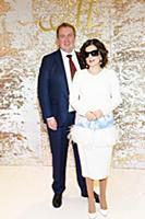 Диана Гурцкая с супругом. Юбилей Лейлы Адамян «Бал