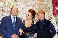 Лейла Адамян, Владимир Рушайло с супругой. Юбилей